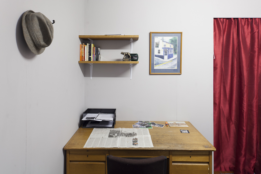 Detective's Office (photograph by James Sebright )