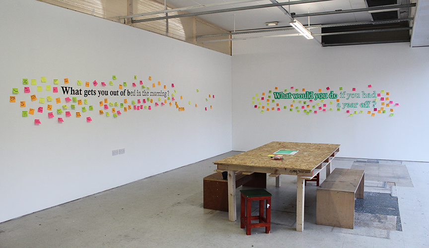 The NewBridge Project - installation photo 2